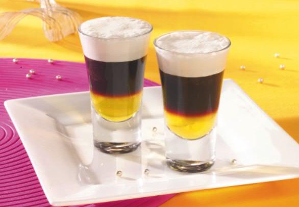 рецепты коктейлей с ликером