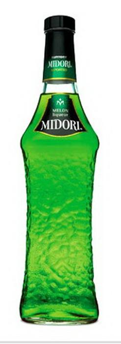 Ликер Мидори со вкусом дыни Ликер Midori