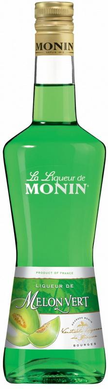 Ликер Зеленая Дыня Монин Ликер Melon Vert Monin