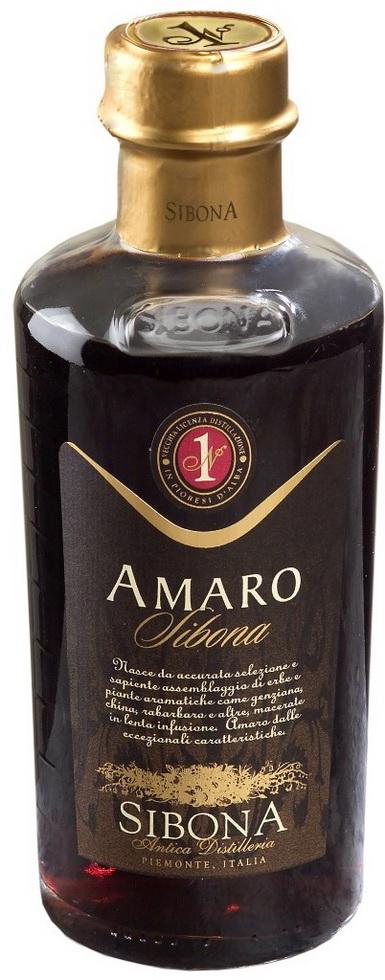 Ликер Сибона Амаро Ликер Amaro Bitter Sibona