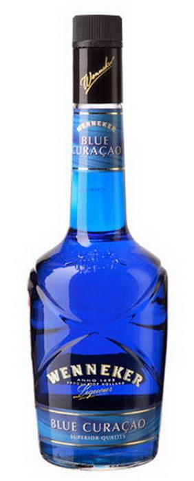 Ликер Кюрасао Ликер Wenneker Blue Curacao