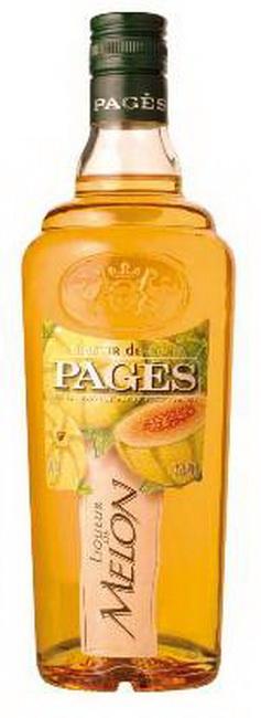 Ликер Pages De Melon Ликер Пажес Дыня
