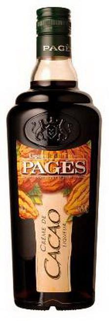 Ликер Pages Creme de Cacao Ликер Пажес Какао