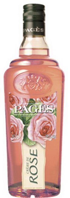 Ликер Pages Creme de Rose Ликер Пажес Роза