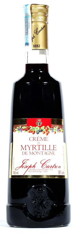 Ликер Крем Де Мартиль Де Монтань Ликер Creme De Myrtelle De Montagne Joseph Cartron