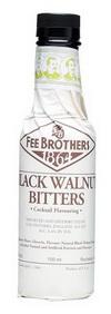 Walnut Биттер Слабоалк Черный Грецкий Орех 0.15л США Биттер Fee Brothers Black