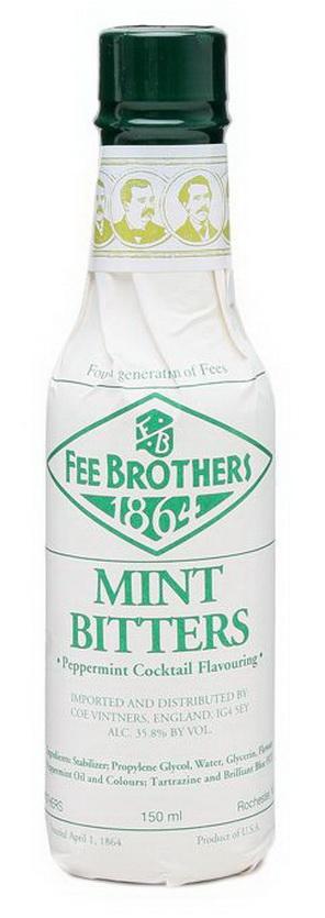 Биттер Мята 0.15 США Биттер Fee Brothers Mint