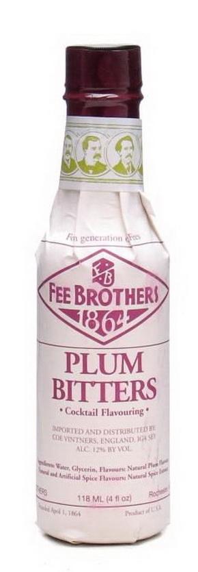 Биттер Слива 0.15л США Биттер Fee Brothers Plum