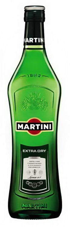 Вермут Martini Extra Dry Мартини Экстра Драй