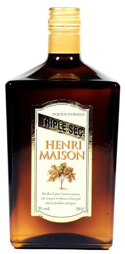 Ликер Генри Мэйсон Трайпл Сек Ликер Henri Maison Triple Sec