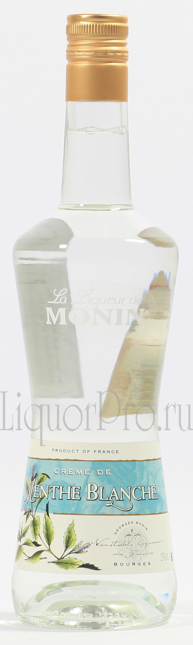 Ликер Мята Белая Монин Ликер Menthe Blanche Monin