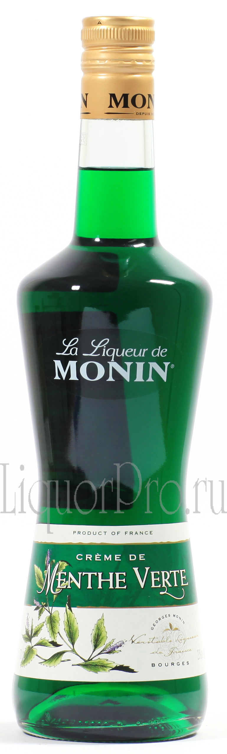 Ликер Зеленая Мята Джордж Монин Ликер Menthe Verde Monin