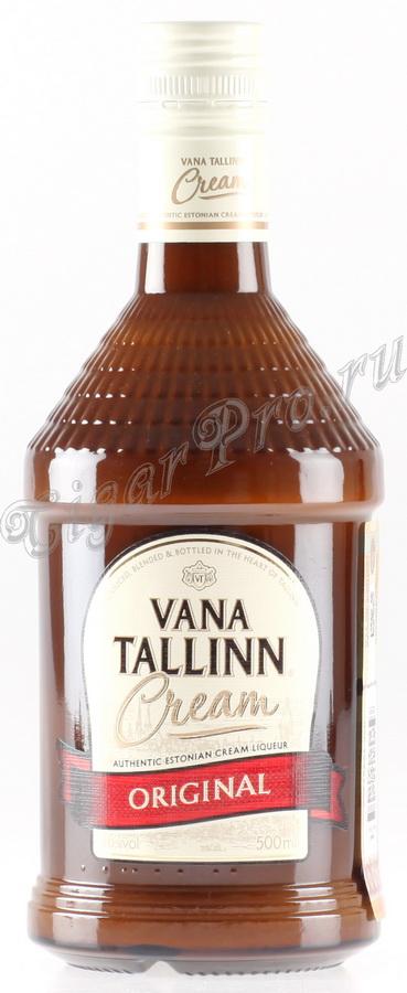 Ликер Старый Таллинн Оригинал Крим Ликер Vana Tallinn Original Cream