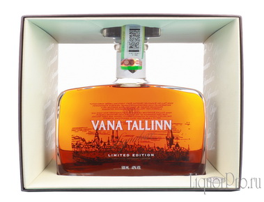 Vana Tallinn Singature Limited Edition ликер Вана Таллин Сигнатур