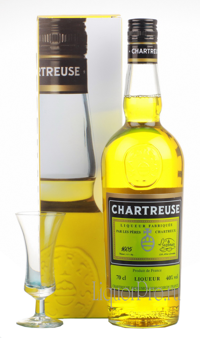 Chartreuse Jaune Ликер Шартрез Жон